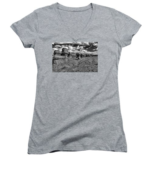 Goblins All In A Row Women's V-Neck