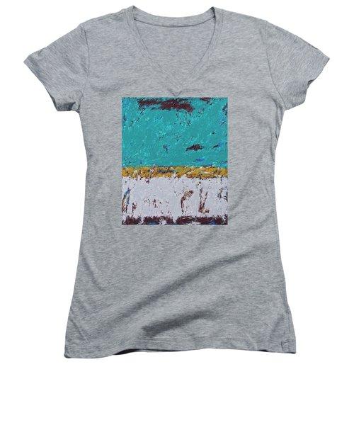 Going Back Women's V-Neck T-Shirt
