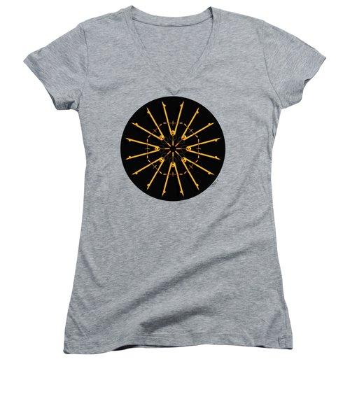 Golden Compasses Women's V-Neck