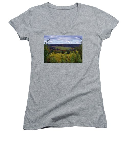 Golden Days Women's V-Neck T-Shirt