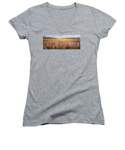 Golden Field Women's V-Neck T-Shirt