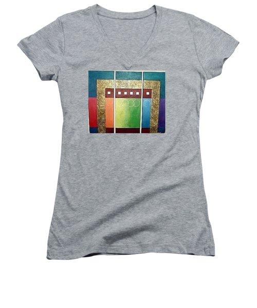 Golden Mesa Women's V-Neck T-Shirt