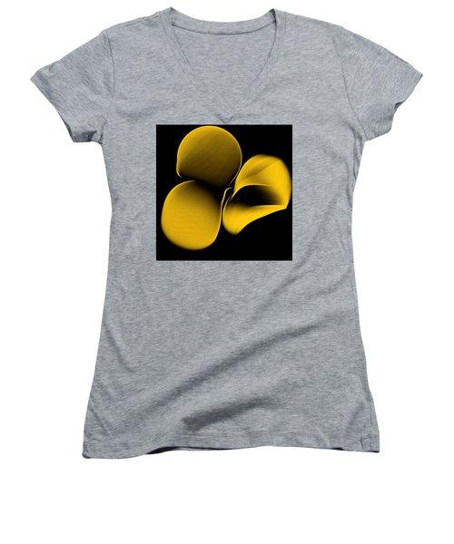 Golden Pantomime Women's V-Neck T-Shirt