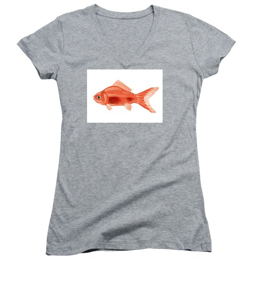 Goldfish Women's V-Neck (Athletic Fit)