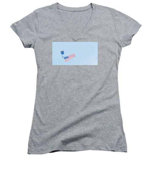 Good Glory Women's V-Neck T-Shirt (Junior Cut)