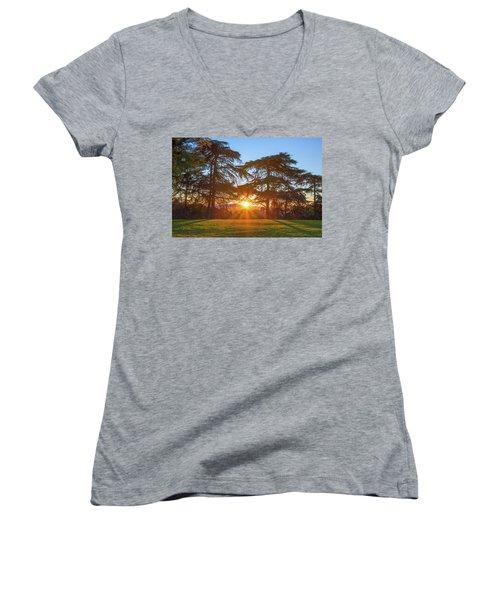 Good Morning, Good Morning Women's V-Neck T-Shirt