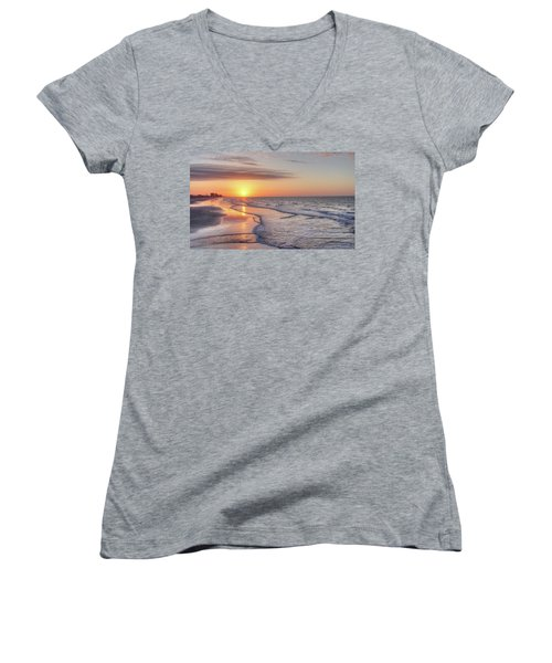 Good Morning Grand Strand Women's V-Neck