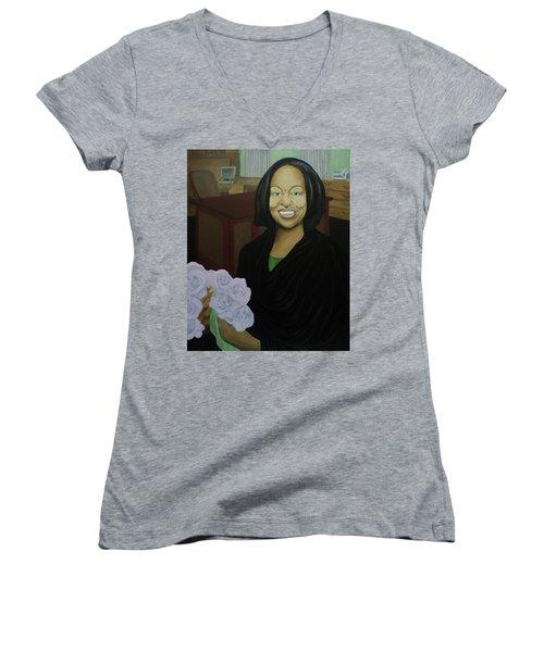 Graduate Beauty Women's V-Neck T-Shirt