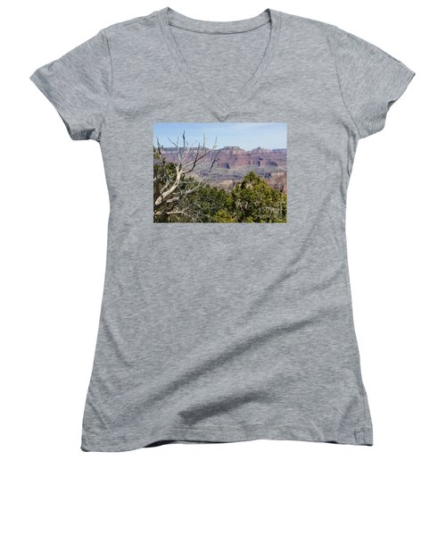 Grand Canyon National Park South Rim Women's V-Neck (Athletic Fit)