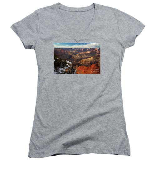 Grand Canyon National Park Women's V-Neck (Athletic Fit)