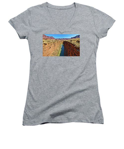 Grand Canyon National Park Colorado River Women's V-Neck
