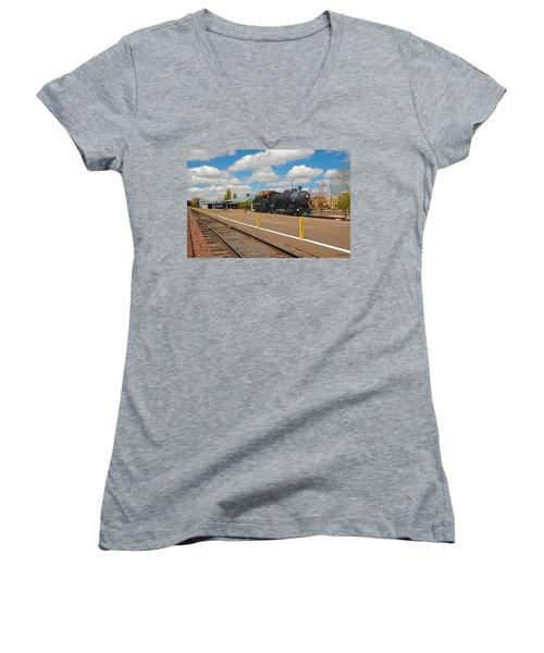 Grand Canyon Railway Women's V-Neck