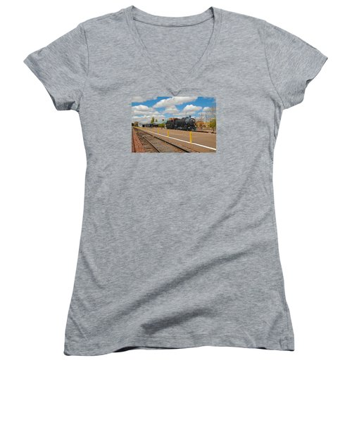 Grand Canyon Railway Women's V-Neck