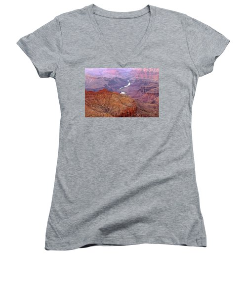 Grand Canyon River View Women's V-Neck