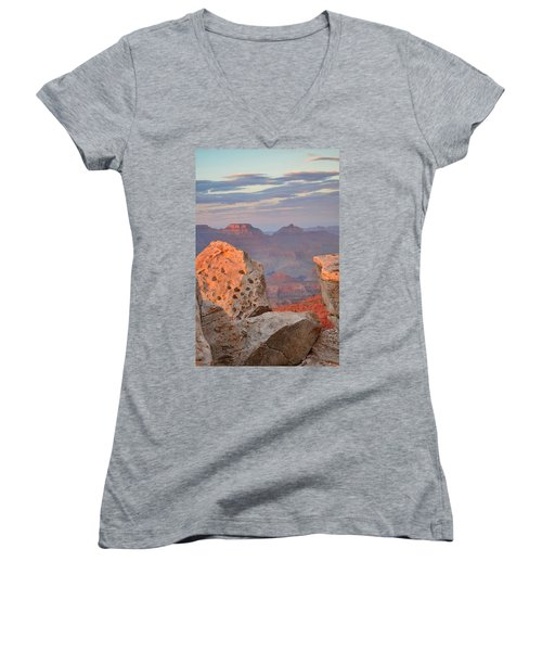 Grand Canyon Women's V-Neck (Athletic Fit)
