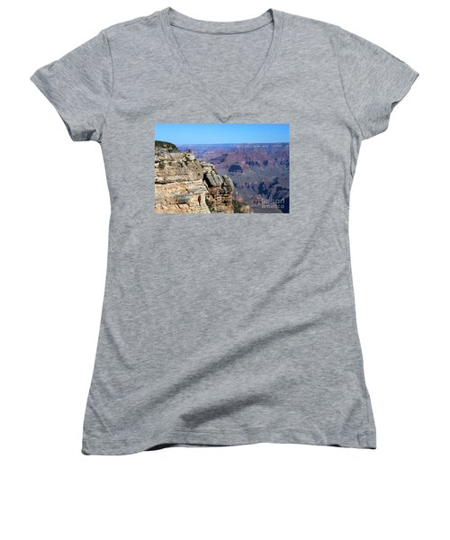 Grand Canyon South Rim Women's V-Neck T-Shirt