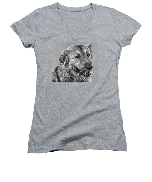 Granddog Kuper Women's V-Neck (Athletic Fit)