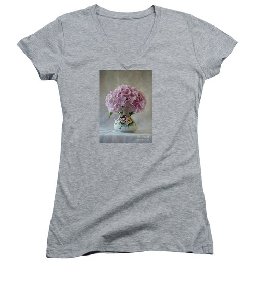 Grandmother's Vase   Women's V-Neck T-Shirt
