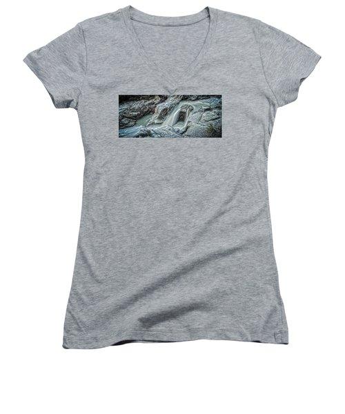 Granite Falls Blues Women's V-Neck T-Shirt
