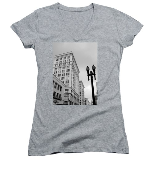 Grant Avenue Women's V-Neck T-Shirt