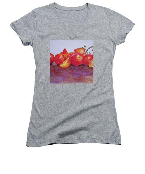 Grapes Women's V-Neck