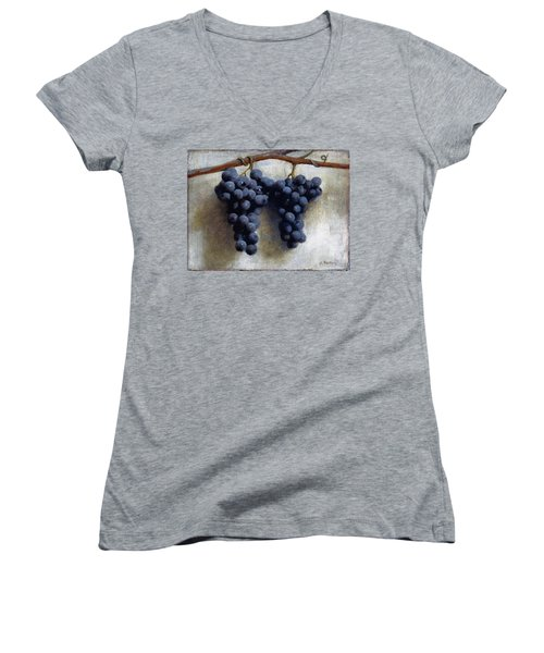 Grapes Women's V-Neck