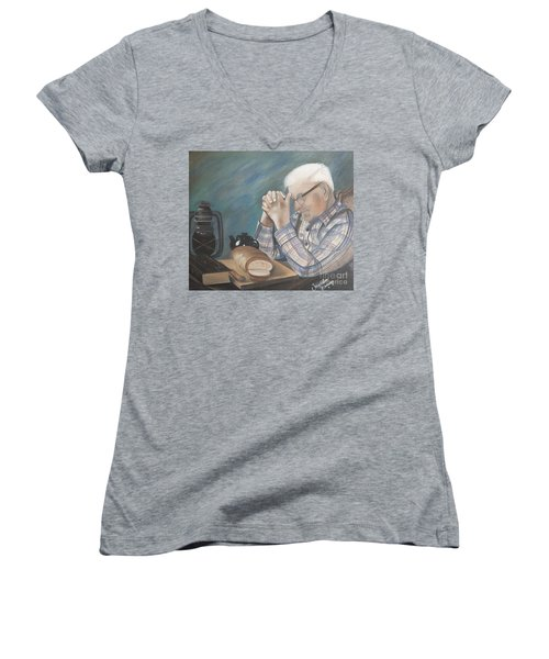 Great Grandpa Women's V-Neck (Athletic Fit)