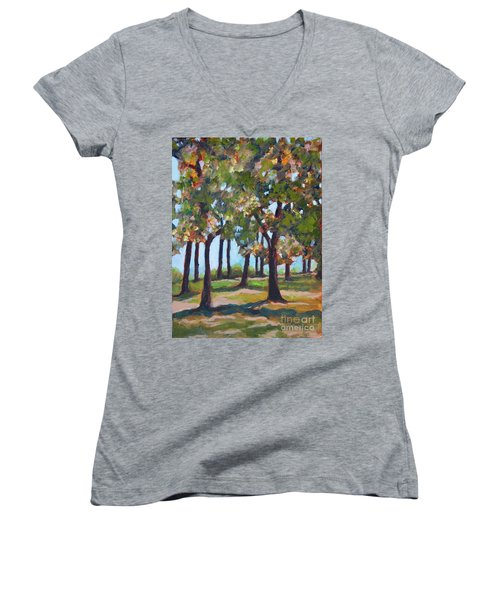 Great Outdoors Women's V-Neck (Athletic Fit)