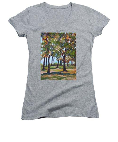 Great Outdoors Women's V-Neck T-Shirt