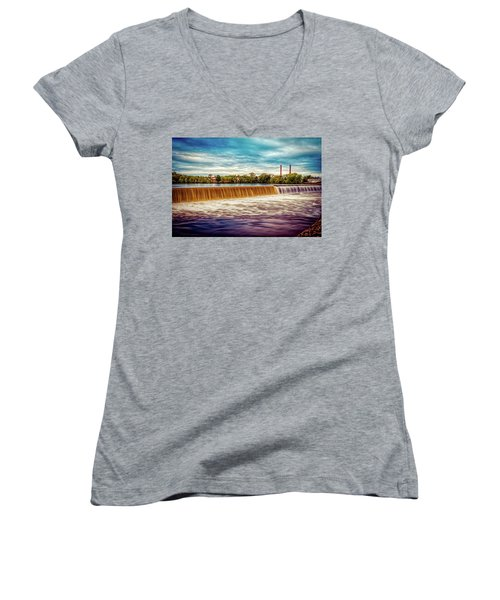 Great Stone Dam Women's V-Neck (Athletic Fit)