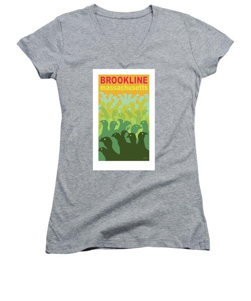 Green Fields Of Brookline Women's V-Neck
