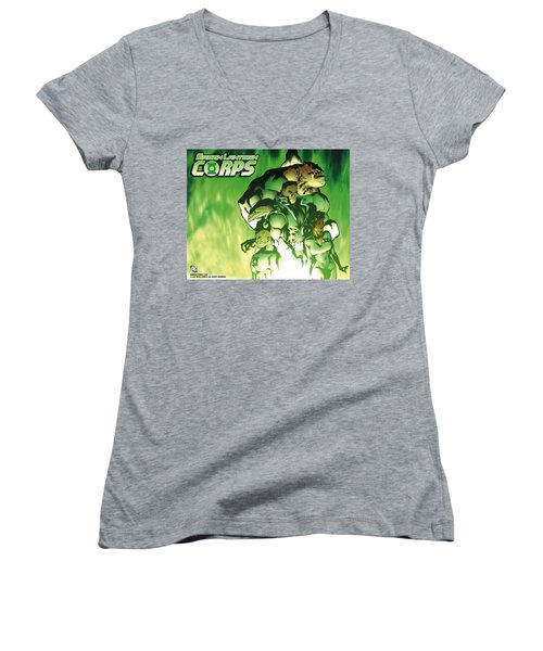 Green Lantern Corps Women's V-Neck
