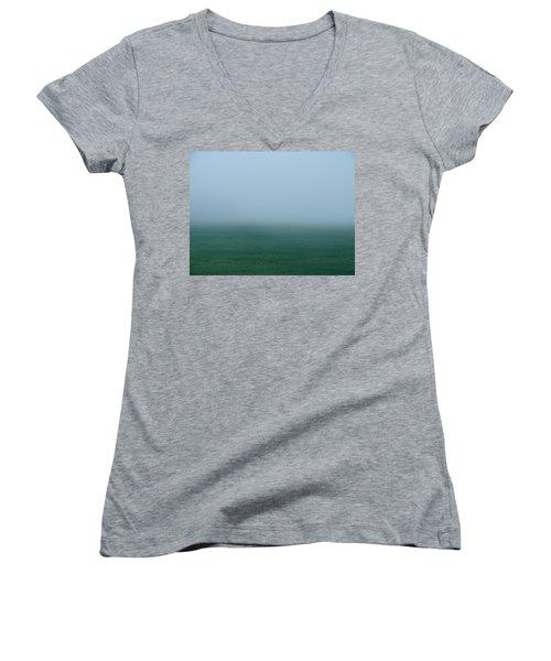 Green Mist Wonder Women's V-Neck T-Shirt