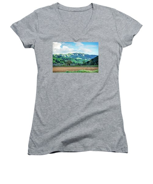 Green Mountains Women's V-Neck (Athletic Fit)