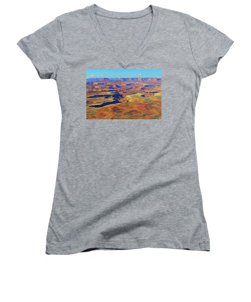 Green River Canyon Women's V-Neck