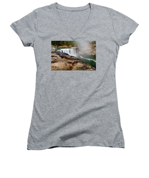 Green River Falls Women's V-Neck
