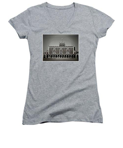 Greetings From Asbury Park Women's V-Neck T-Shirt