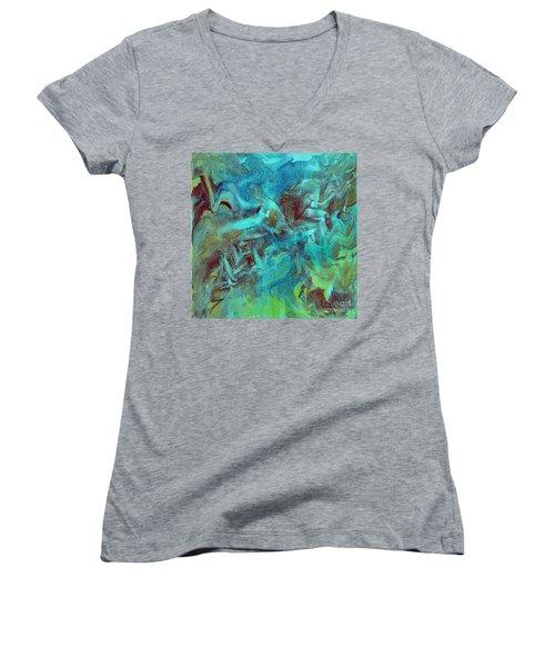 Groovy Women's V-Neck T-Shirt