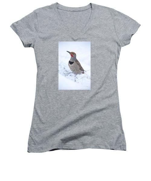 Grubbin Women's V-Neck T-Shirt