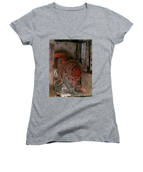 Grunge Gear Motor Women's V-Neck (Athletic Fit)