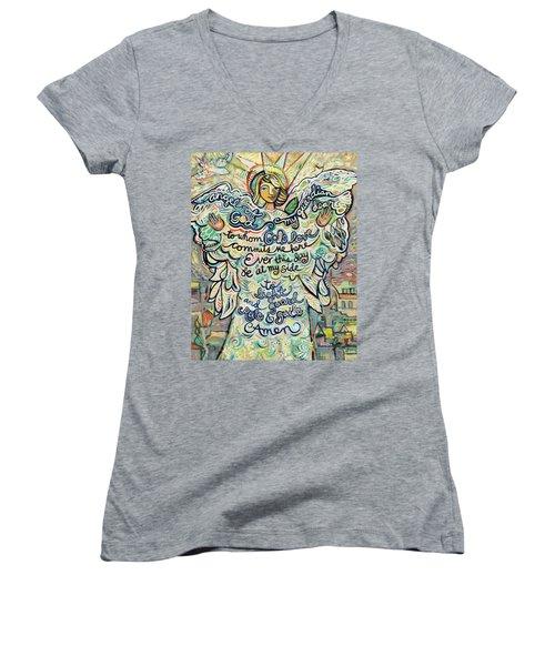 Guardian Angel Women's V-Neck T-Shirt