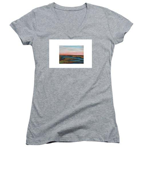 Guilded Edge Women's V-Neck T-Shirt