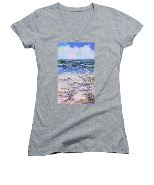 Gulf Coast Florida Keys  Women's V-Neck (Athletic Fit)