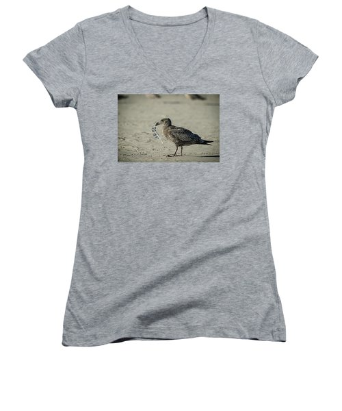 Gull And Feather Women's V-Neck