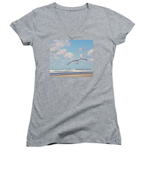 Gull Getaway Women's V-Neck T-Shirt