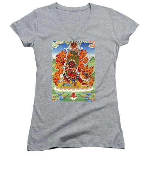 Guru Dragpo Women's V-Neck T-Shirt