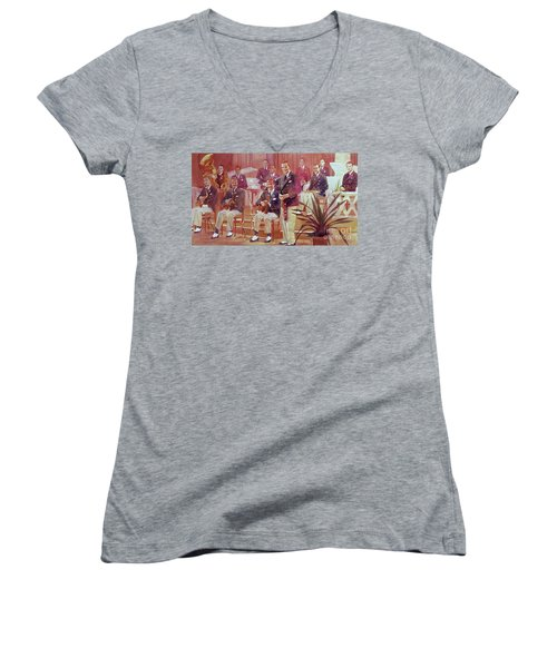 Guy Lombardo The Royal Canadians Women's V-Neck