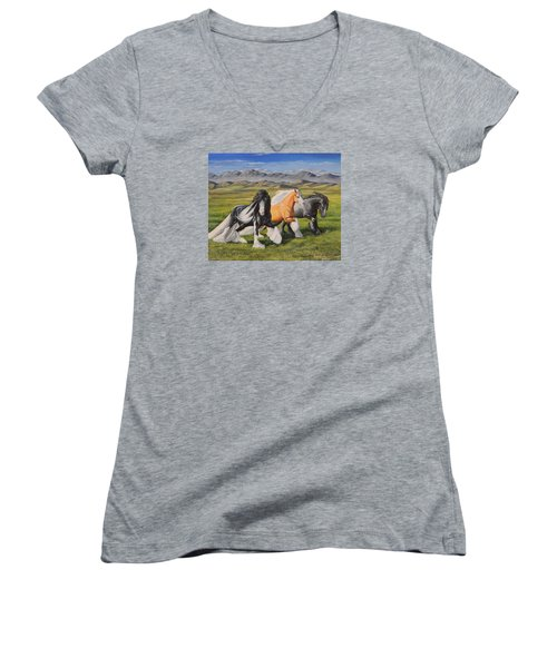 Gypsy Medley Women's V-Neck T-Shirt
