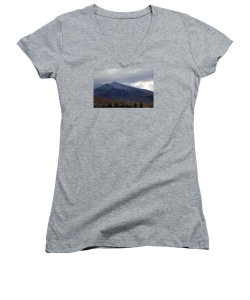 Half And Half Women's V-Neck (Athletic Fit)