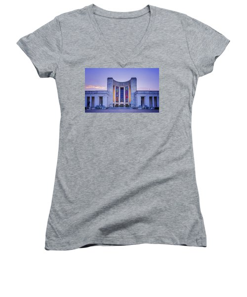 Hall Of State Texas Women's V-Neck